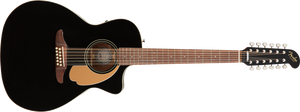Fender Villager 12-String - Black, WN