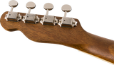 Fender Zuma Concert Ukulele - Natural, WN