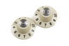 "Fender Pure Vintage 1965 Jazzmaster ""Witch Hat"" Knobs - Vintage White"