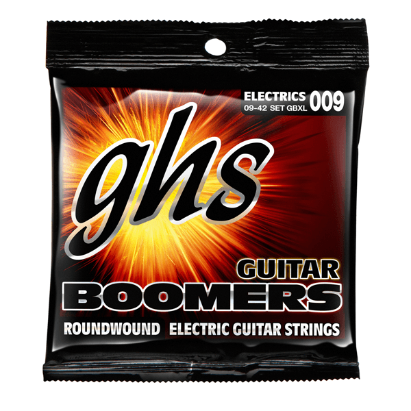 GHS GBXL Guitar Boomers, Electric Guitar Strings, 9-42