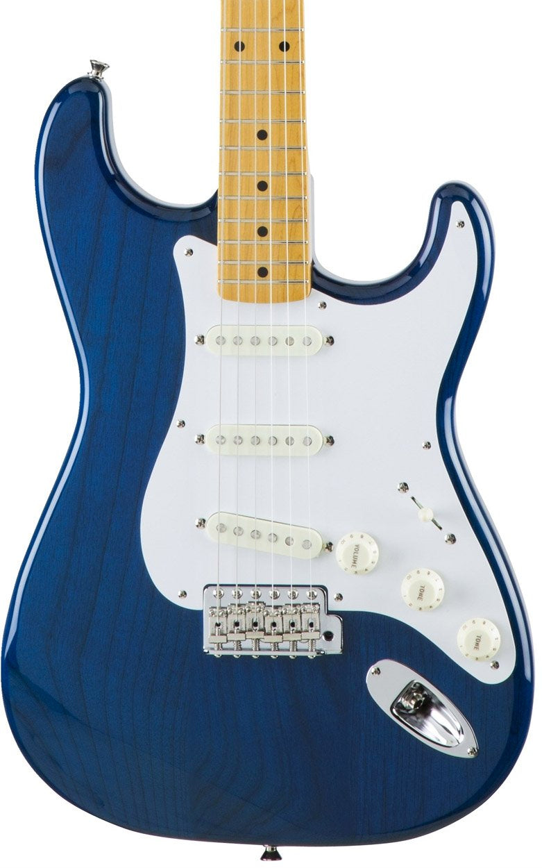 Fender MIJ Traditional '58 Stratocaster - Sapphire Blue Transparent
