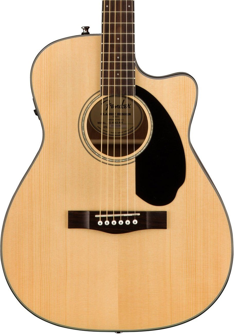 Fender CC-60SCE Acoustic/Electric - Natural
