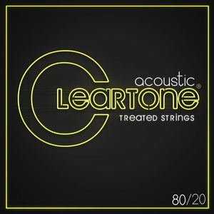 Cleartone 80/20 Bronze Acoustic Guitar Strings - World's Best Guitar Strings