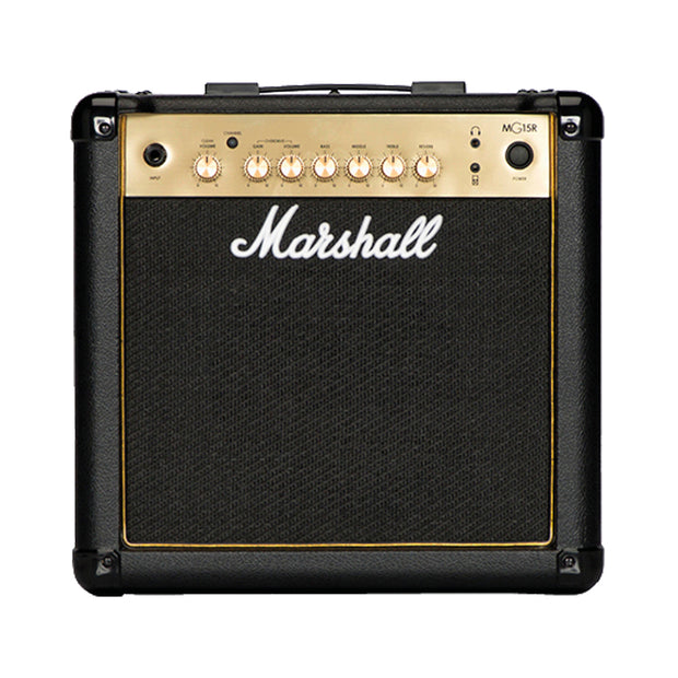 Marshall MG15R 15W Combo With Reverb - Gold Series