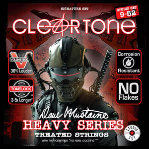 Cleartone Dave Mustaine Signature Electric Guitar Strings