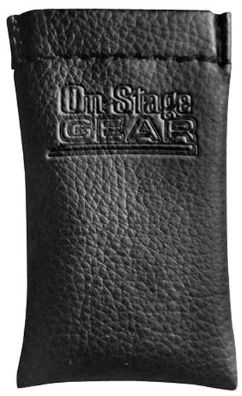 On Stage Chrome-Plated Seamless Steel Slide with Pouch - Size 9T is now available in-store at Guitar Station