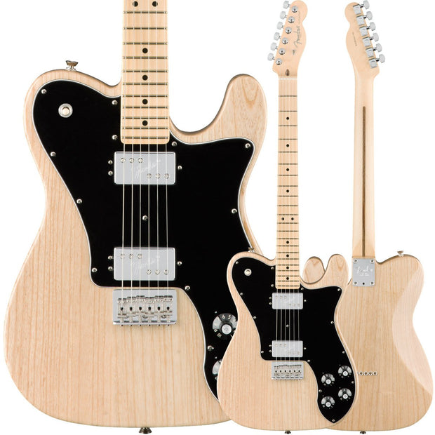 Fender American Professional Telecaster Deluxe - Natural Ash
