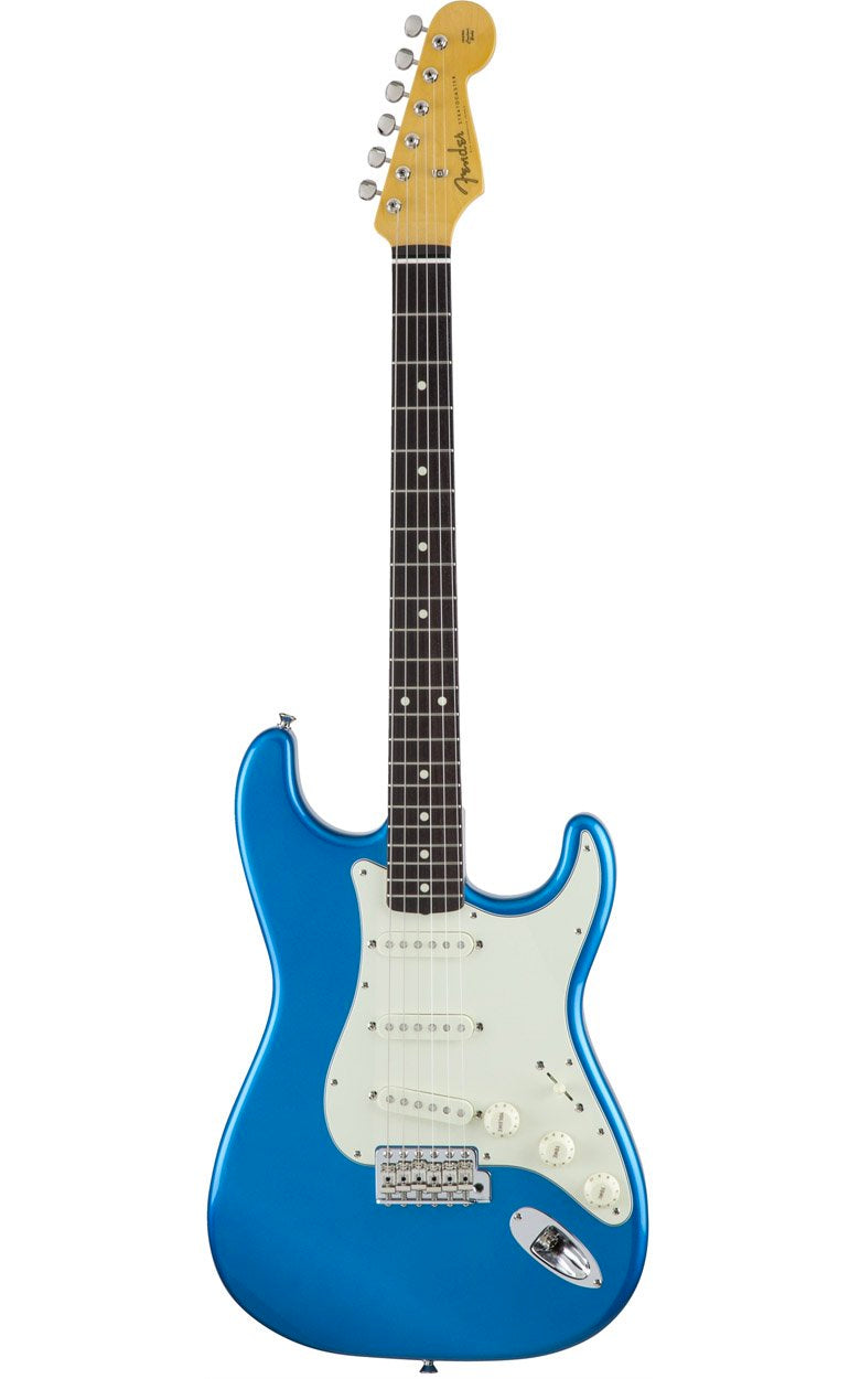 Front of Fender MIJ Traditional '60s Stratocaster - Candy Blue