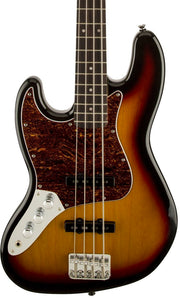 Squier Vintage Modified Jazz Bass - 3-Colour Sunburst, Left Handed