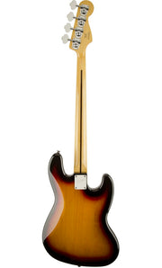 This is the back of Squier Vintage Modified Jazz Bass - 3-Colour Sunburst, Left Handed