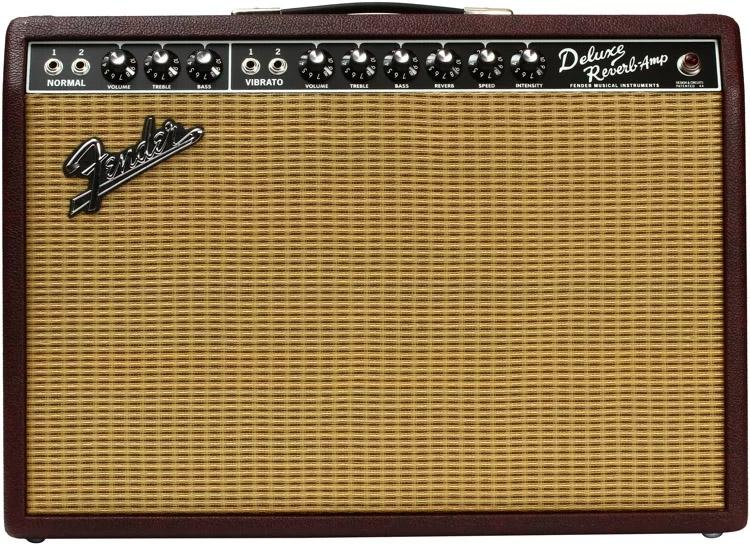 Fender FSR '65 Deluxe Reverb- Limited Edition Wine Red