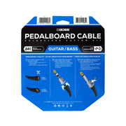 BOSS Pedalboard cable kit - 24 connectors, 24ft / 7.3m cable