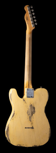 Rear image of Fender Custom Shop NAMM Limited Edition '51 Nocaster - Faded Nocaster Blonde, Heavy Relic