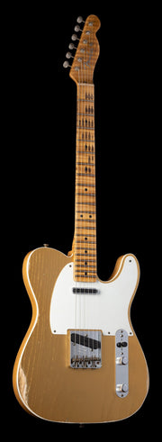 Fender Custom Shop Limited Edition Double Esquire Special - Aged Aztec Gold, Relic