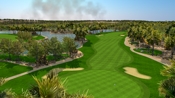 Abu Dhabi Golf Club - FSX 2018 Course