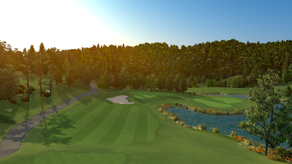 Asiana Golf Club - FSX 2018 Course