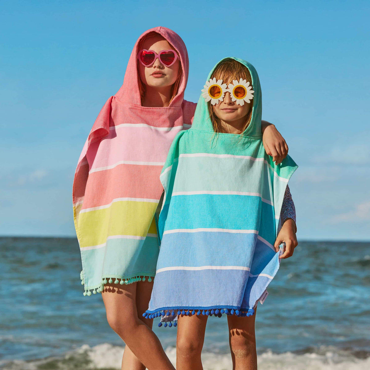 Kids Hooded Fouta Towel | Girl