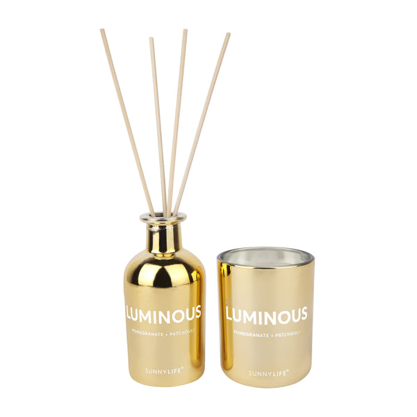 Sunnylife | Scented Candle & Diffuser Set | Luminous