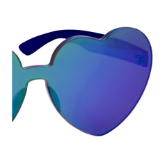Heart Sunnies | Midnight Iridescent