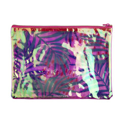 See Thru Pouch | Electric Bloom Pink