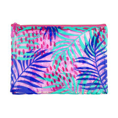 Sunnylife | See Thru Pouch | Electric Bloom Pink