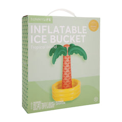 Inflatable Ice Bucket | Tropical Island