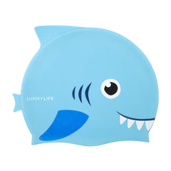 Sunnylife | Shaped Swimming Cap 3-9 | Shark