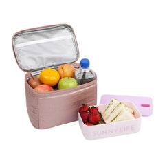 Lunch Bag | Electric Bloom Pink