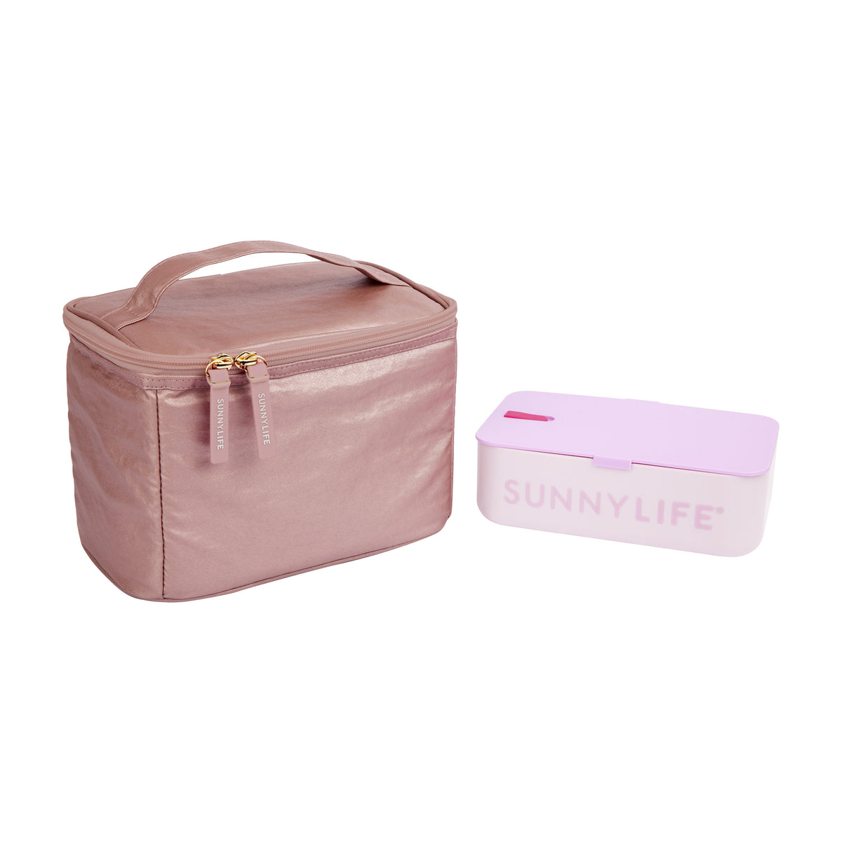 Sunnylife | Lunch Bag | Electric Bloom Pink