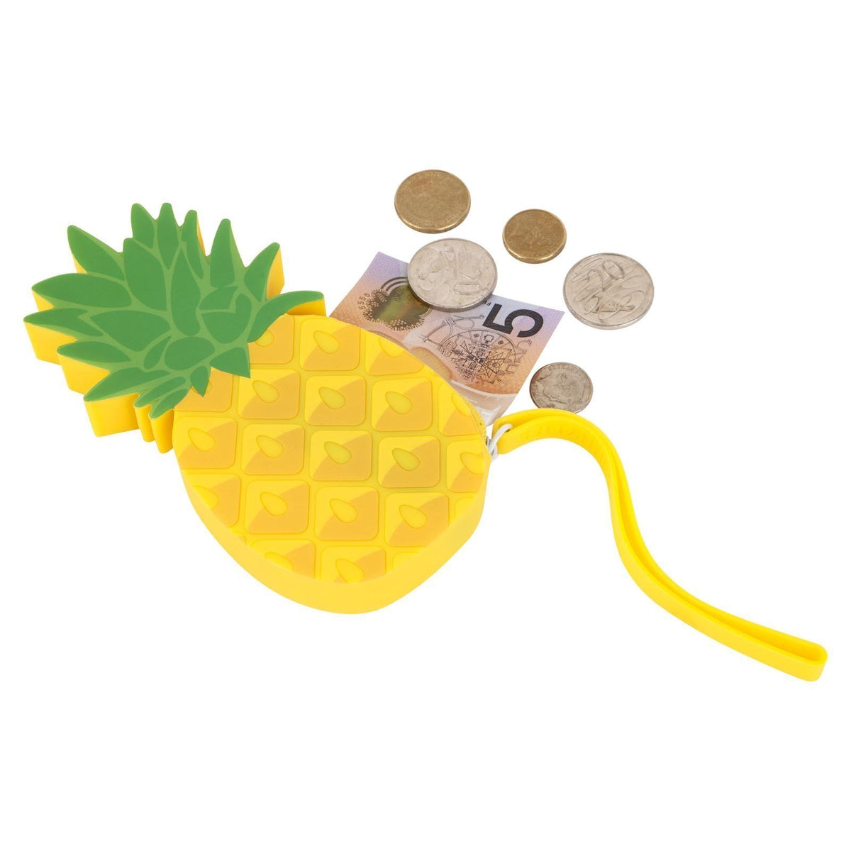 Sunnylife | Silicone Coin Pouch | Pineapple
