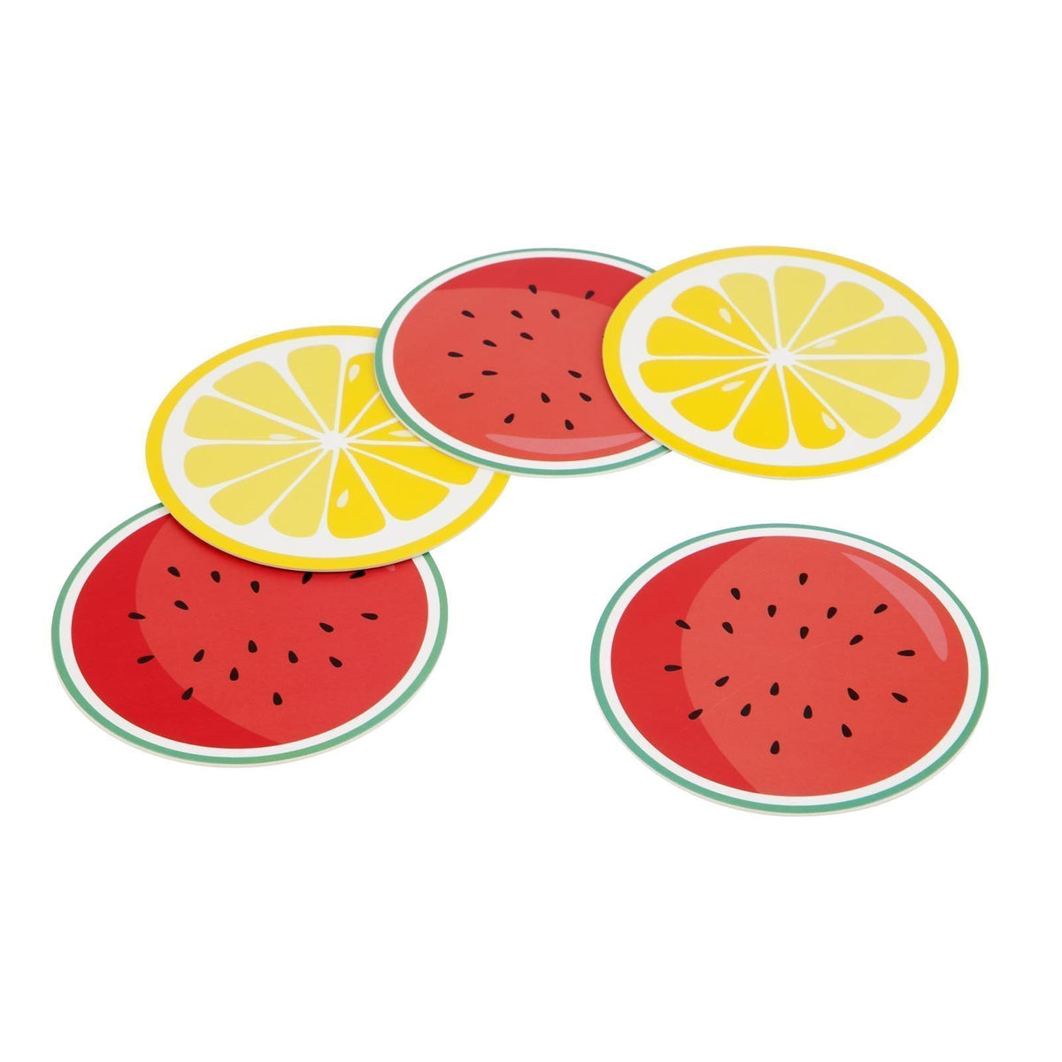 Sunnylife | Reversible Coasters | Fruit Salad