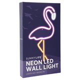 Neon LED Wall Light Small EU | Flamingo