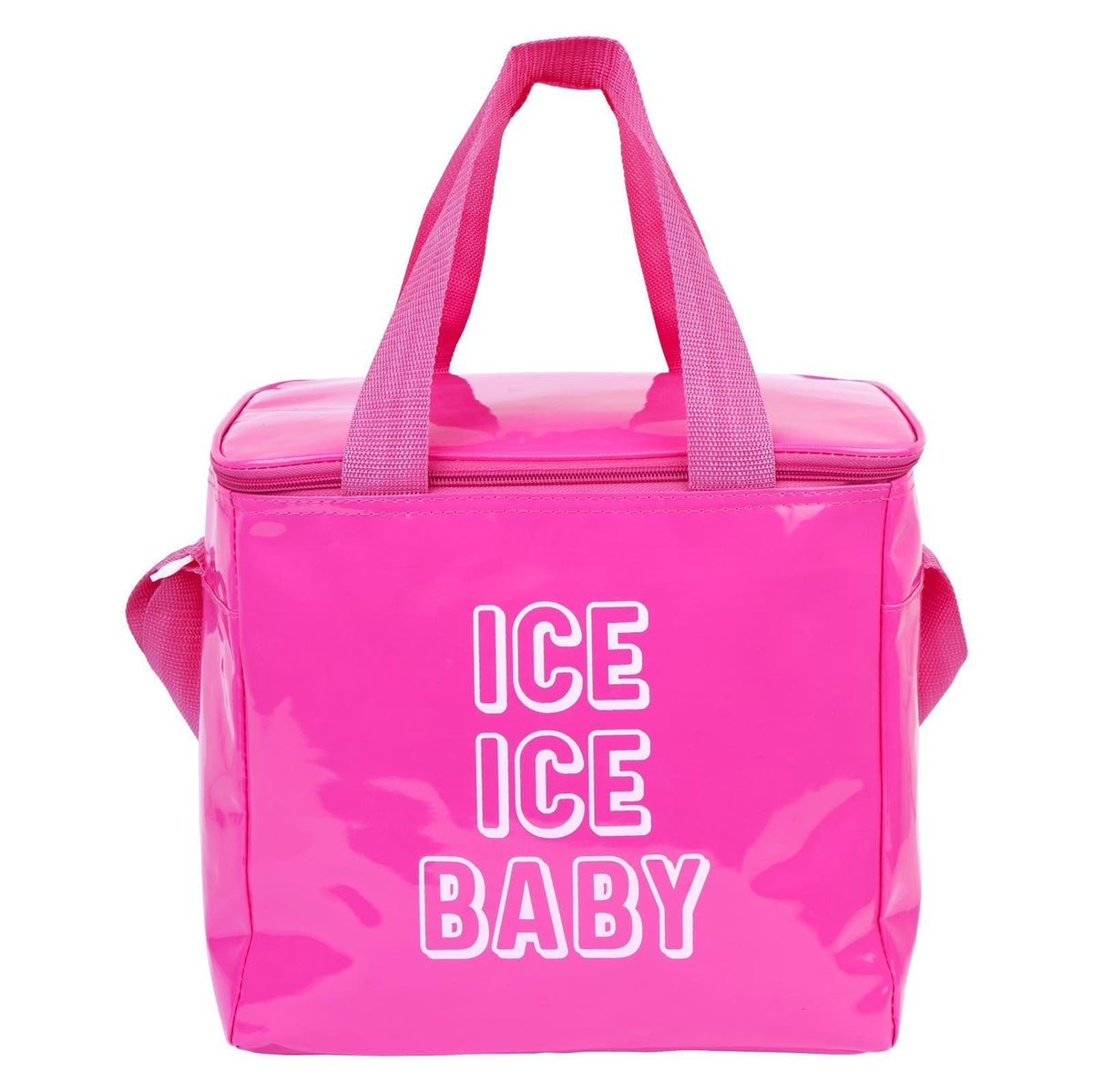 Beach Cooler Bag Large | Neon Pink