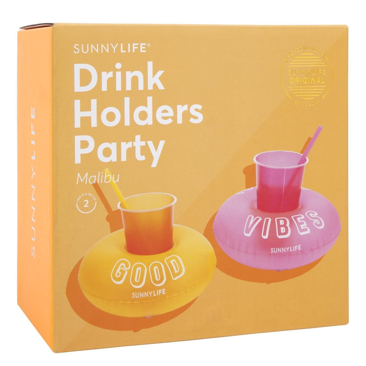 Sunnylife | Inflatable Drink Holders | Malibu