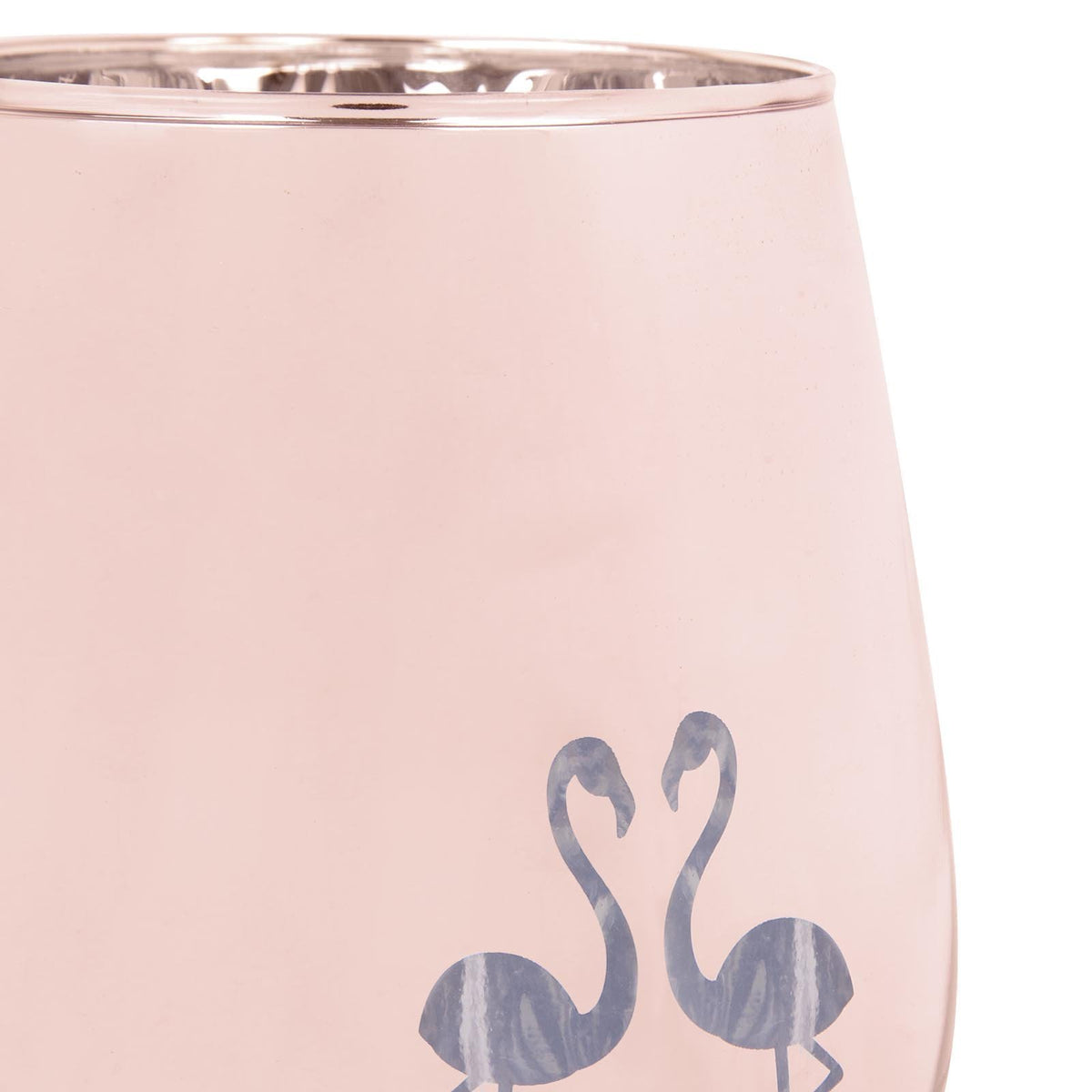 Sunnylife | Cocktail Glasses Stemless | Flamingo