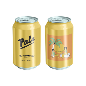 Pals Gin Lemon Cucumber RTD Drink