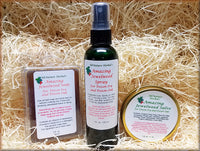 Amazing Jewelweed Soap, Salve and Spray Kit