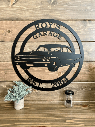 1961 Ford Galaxie Metal Sign