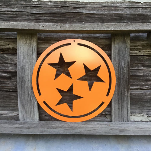 Tennessee Tristar Custom Metal Sign