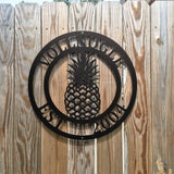 PINEAPPLE - Established Family Last Name Sign