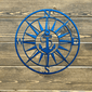 Nautical Anchor Compass Outdoor Wall Art