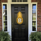 Monogrammed Pineapple Front Door Wreath