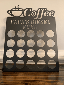 Papa's Fuel K-Cup Holder