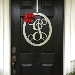 Add On A Bow to Any Monogram Door Wreath or Sign
