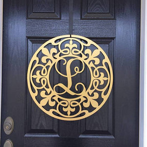 The New Orleans Monogrammed Door Hanger