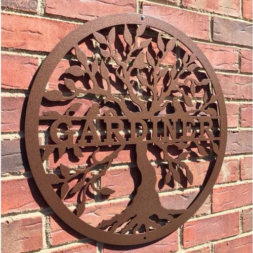 Personalized Last Name Tree of Life