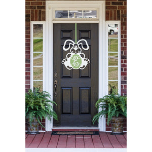 Floppy Bunny Front Door Wreath or Nursery decor