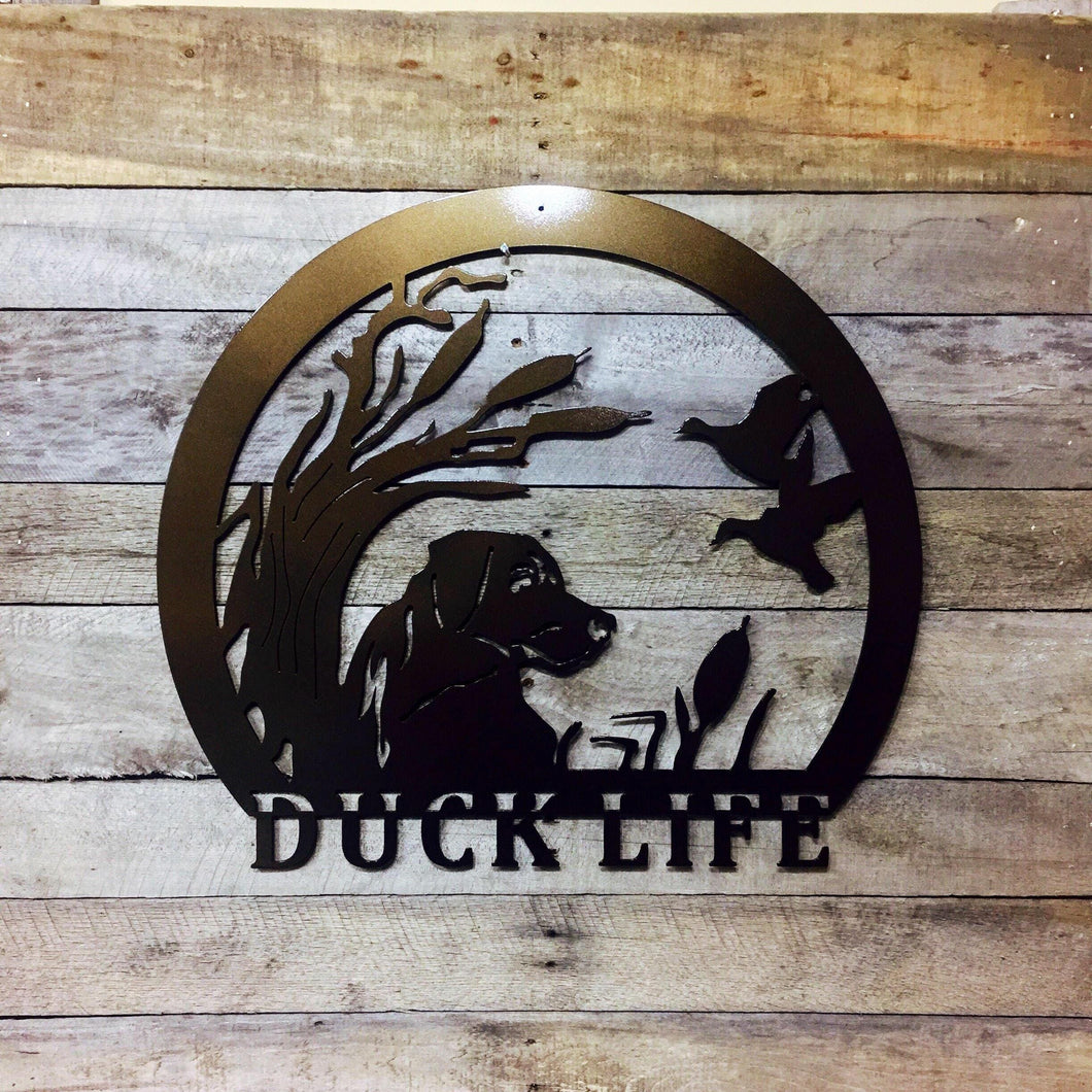 Personalized Duck Life Sign