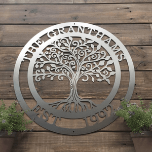 """Loving"" Tree of Life Sign"