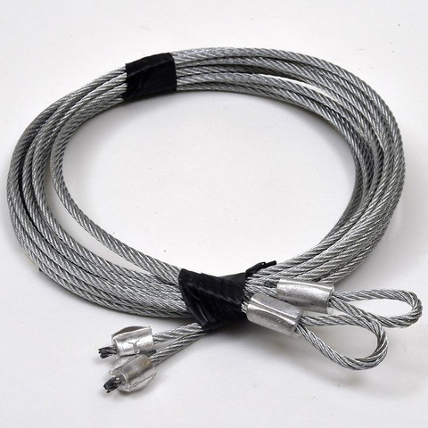 Sell Sectional Panel Lift Garage Door Cable Customizer Length